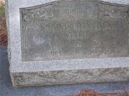 WESLEY, NADINE - Arkansas County, Arkansas | NADINE WESLEY - Arkansas Gravestone Photos