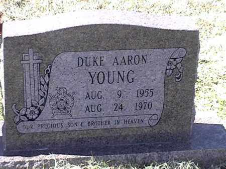 YOUNG, DUKE AARON - Arkansas County, Arkansas   DUKE AARON YOUNG - Arkansas Gravestone Photos