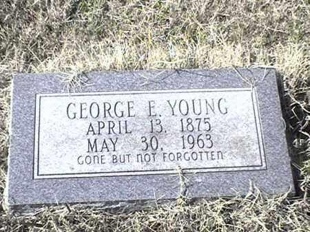 YOUNG, GEORGE E - Arkansas County, Arkansas | GEORGE E YOUNG - Arkansas Gravestone Photos