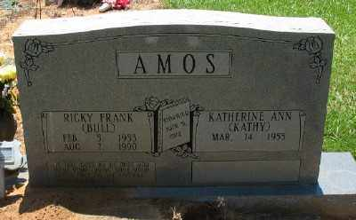 AMOS, RICKY FRANK - Ashley County, Arkansas | RICKY FRANK AMOS - Arkansas Gravestone Photos