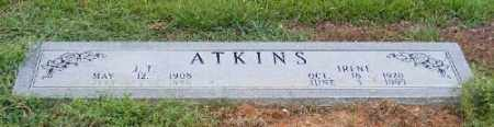 ATKINS, IRENE - Ashley County, Arkansas | IRENE ATKINS - Arkansas Gravestone Photos