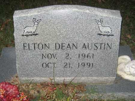 AUSTIN, ELTON DEAN - Ashley County, Arkansas   ELTON DEAN AUSTIN - Arkansas Gravestone Photos