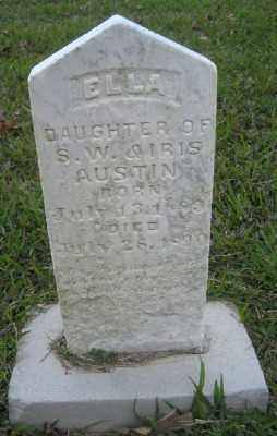 AUSTIN, ELLA - Ashley County, Arkansas | ELLA AUSTIN - Arkansas Gravestone Photos