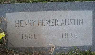 AUSTIN, HENRY ELMER - Ashley County, Arkansas | HENRY ELMER AUSTIN - Arkansas Gravestone Photos