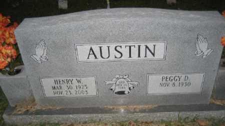 AUSTIN, HENRY W. - Ashley County, Arkansas | HENRY W. AUSTIN - Arkansas Gravestone Photos