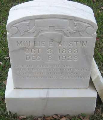 BENNETT AUSTIN, MOLLIE E. - Ashley County, Arkansas   MOLLIE E. BENNETT AUSTIN - Arkansas Gravestone Photos