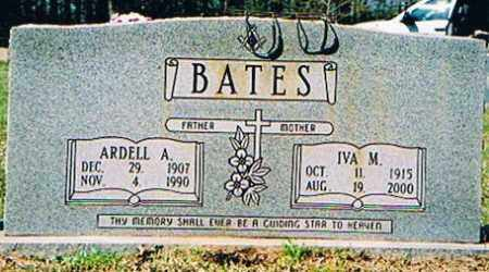 BATES, ARDELL A - Ashley County, Arkansas | ARDELL A BATES - Arkansas Gravestone Photos