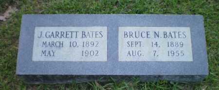 BATES, BRUCE N - Ashley County, Arkansas   BRUCE N BATES - Arkansas Gravestone Photos