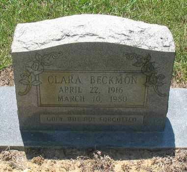 BECKMAN, CLARA - Ashley County, Arkansas   CLARA BECKMAN - Arkansas Gravestone Photos