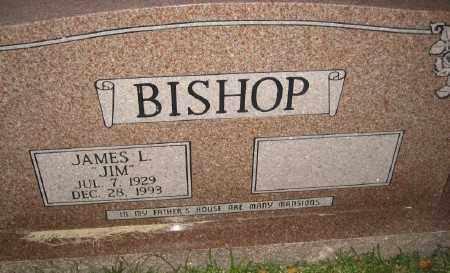 BISHOP, JAMES L. - Ashley County, Arkansas | JAMES L. BISHOP - Arkansas Gravestone Photos