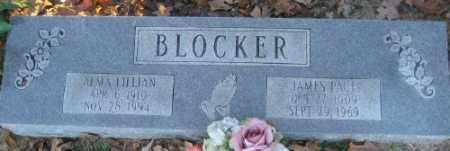 BLOCKER, ALMA LILLIAN - Ashley County, Arkansas | ALMA LILLIAN BLOCKER - Arkansas Gravestone Photos