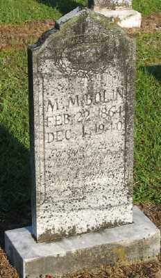 BOLIN, M. M. - Ashley County, Arkansas | M. M. BOLIN - Arkansas Gravestone Photos