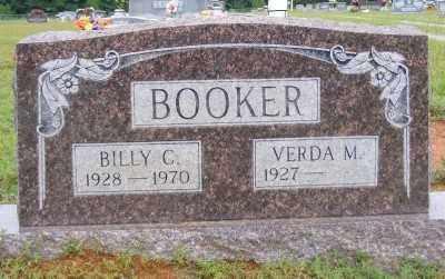 BOOKER, BILLY C. - Ashley County, Arkansas | BILLY C. BOOKER - Arkansas Gravestone Photos