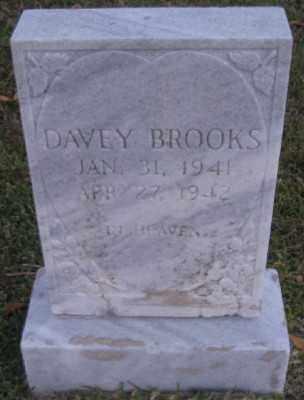 BROOKS, DAVEY - Ashley County, Arkansas | DAVEY BROOKS - Arkansas Gravestone Photos