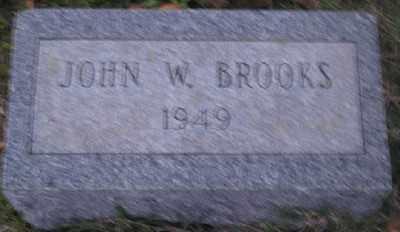 BROOKS, JOHN W. - Ashley County, Arkansas | JOHN W. BROOKS - Arkansas Gravestone Photos