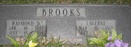 BROOKS, LAVERNE - Ashley County, Arkansas   LAVERNE BROOKS - Arkansas Gravestone Photos