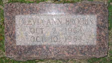 BROOKS, OLEVIA ANN - Ashley County, Arkansas   OLEVIA ANN BROOKS - Arkansas Gravestone Photos