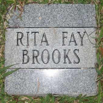 BROOKS, RITA FAY - Ashley County, Arkansas | RITA FAY BROOKS - Arkansas Gravestone Photos