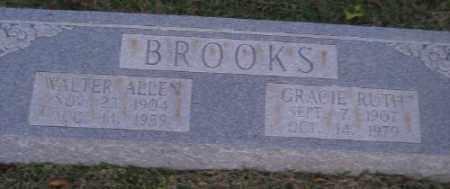 BROOKS, GRACIE RUTH - Ashley County, Arkansas   GRACIE RUTH BROOKS - Arkansas Gravestone Photos