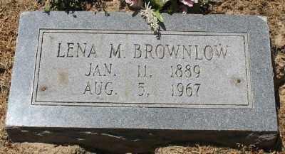 BROWNLOW, EVA LENA - Ashley County, Arkansas | EVA LENA BROWNLOW - Arkansas Gravestone Photos