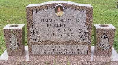 BURCHELL, JIMMY HAROLD - Ashley County, Arkansas | JIMMY HAROLD BURCHELL - Arkansas Gravestone Photos