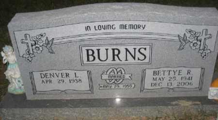 TURNER BURNS, BETTY R. - Ashley County, Arkansas | BETTY R. TURNER BURNS - Arkansas Gravestone Photos