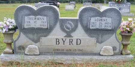 BYRD, THURMAN - Ashley County, Arkansas | THURMAN BYRD - Arkansas Gravestone Photos