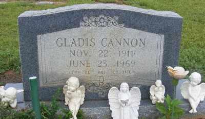 CANNON, GLADIS - Ashley County, Arkansas | GLADIS CANNON - Arkansas Gravestone Photos