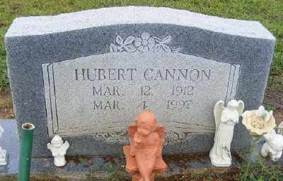 CANNON, HUBERT - Ashley County, Arkansas | HUBERT CANNON - Arkansas Gravestone Photos