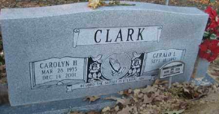 HOWIE CLARK, CAROLYN H. - Ashley County, Arkansas | CAROLYN H. HOWIE CLARK - Arkansas Gravestone Photos