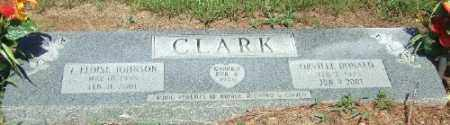 JOHNSON CLARK, F. ELOISE - Ashley County, Arkansas | F. ELOISE JOHNSON CLARK - Arkansas Gravestone Photos