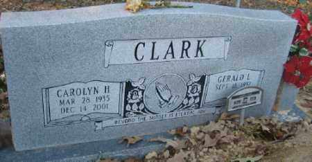 CLARK, GERALD L. - Ashley County, Arkansas | GERALD L. CLARK - Arkansas Gravestone Photos
