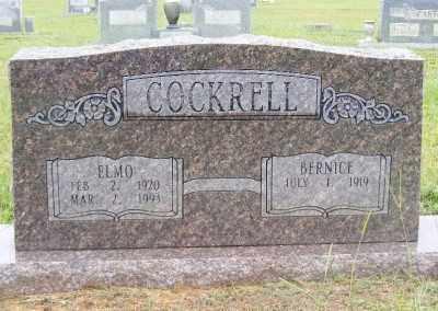 COCKRELL, ELMO - Ashley County, Arkansas   ELMO COCKRELL - Arkansas Gravestone Photos