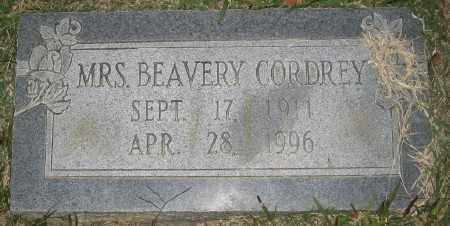 CORDREY, BEAVERY - Ashley County, Arkansas | BEAVERY CORDREY - Arkansas Gravestone Photos