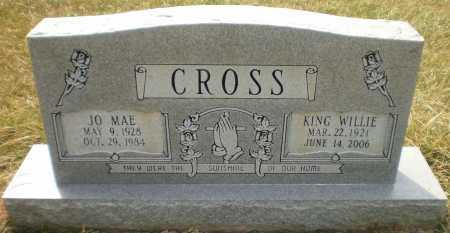 CROSS, KING WILLIE - Ashley County, Arkansas | KING WILLIE CROSS - Arkansas Gravestone Photos