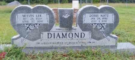 NUTT DIAMOND, DORIS - Ashley County, Arkansas | DORIS NUTT DIAMOND - Arkansas Gravestone Photos