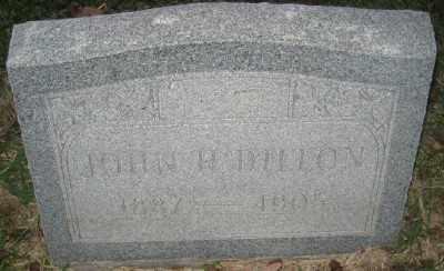 DILLON, JOHN H. - Ashley County, Arkansas | JOHN H. DILLON - Arkansas Gravestone Photos