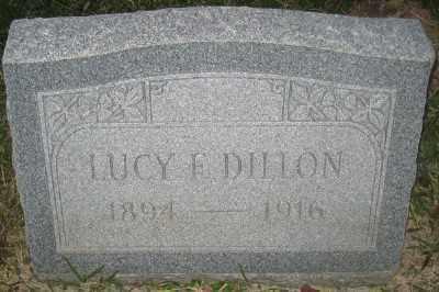 DILLON, LUCY F. - Ashley County, Arkansas | LUCY F. DILLON - Arkansas Gravestone Photos