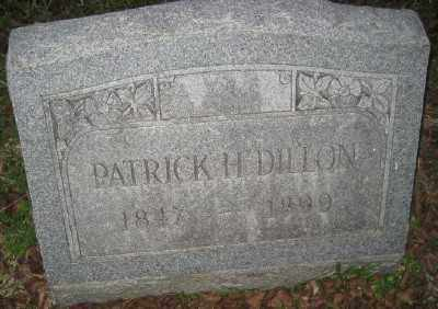DILLON, PATRICK H. - Ashley County, Arkansas | PATRICK H. DILLON - Arkansas Gravestone Photos