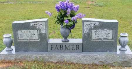 FARMER, ANNETTA T. - Ashley County, Arkansas | ANNETTA T. FARMER - Arkansas Gravestone Photos