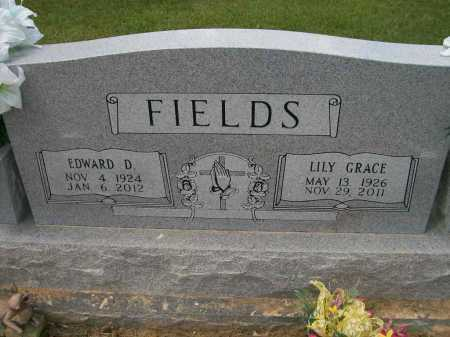 ROLAND FIELDS, LILY GRACE - Ashley County, Arkansas   LILY GRACE ROLAND FIELDS - Arkansas Gravestone Photos