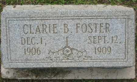 FOSTER, CLARIE - Ashley County, Arkansas | CLARIE FOSTER - Arkansas Gravestone Photos