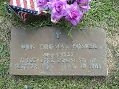 FOSTER  (VETERAN), GUY THOMAS - Ashley County, Arkansas | GUY THOMAS FOSTER  (VETERAN) - Arkansas Gravestone Photos