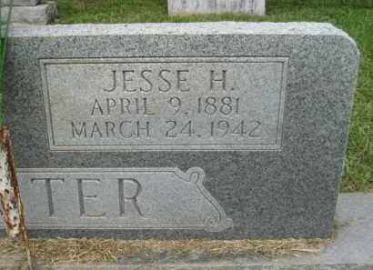 FOSTER, JESSE H. - Ashley County, Arkansas | JESSE H. FOSTER - Arkansas Gravestone Photos