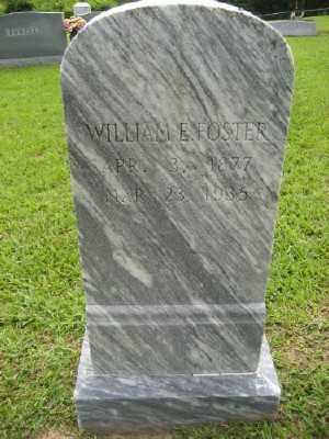 FOSTER, WILLIAM E. - Ashley County, Arkansas | WILLIAM E. FOSTER - Arkansas Gravestone Photos