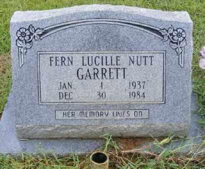 GARRETT, FERN LUCILLE - Ashley County, Arkansas | FERN LUCILLE GARRETT - Arkansas Gravestone Photos