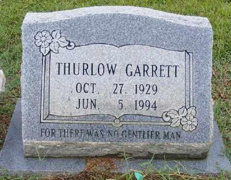 GARRETT, THURLOW - Ashley County, Arkansas | THURLOW GARRETT - Arkansas Gravestone Photos