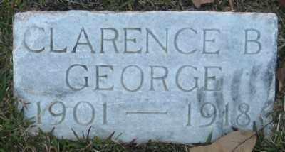 GEORGE, CLARENCE B. - Ashley County, Arkansas | CLARENCE B. GEORGE - Arkansas Gravestone Photos