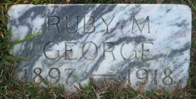 GEORGE, RUBY M. - Ashley County, Arkansas   RUBY M. GEORGE - Arkansas Gravestone Photos