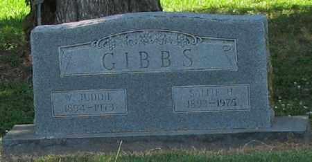 GIBBS, W. JUDDIE - Ashley County, Arkansas | W. JUDDIE GIBBS - Arkansas Gravestone Photos